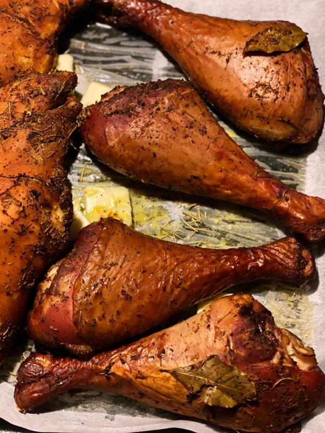 Hickory Smoked Turkey Legs