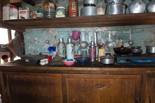 Grandma's kitchen.