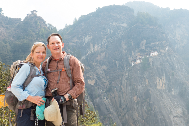 Our first full view of Tiger's Nest.