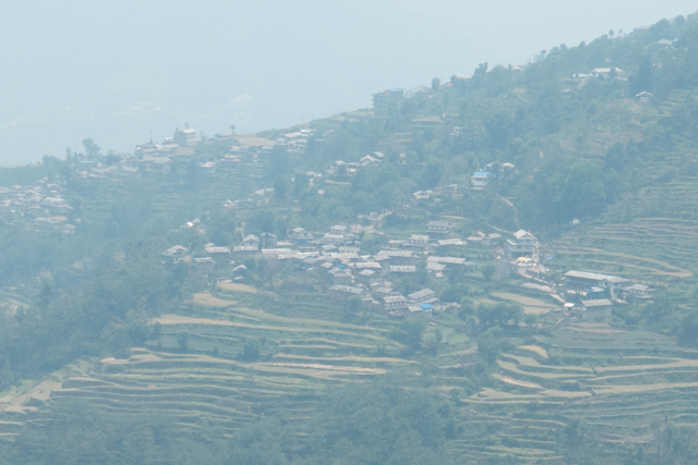 Graddruk village is one of the larger villages in the Annapurna foothills.