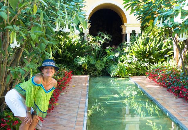 The Rothschild Spanish Garden.