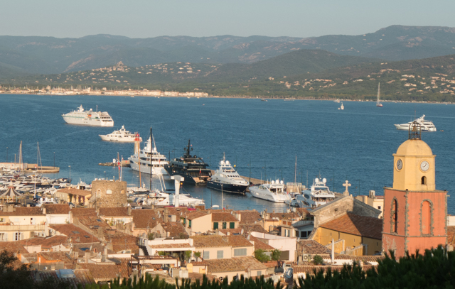 As with many ports on the French Rivieria, lots of beautiful yachts.