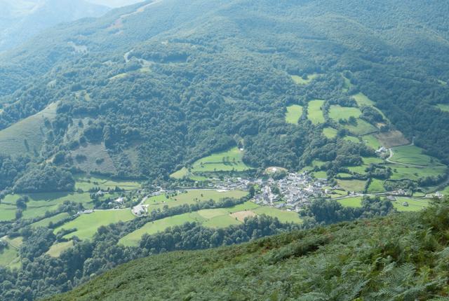 Our destination was just outside this pretty little village - Larrau.