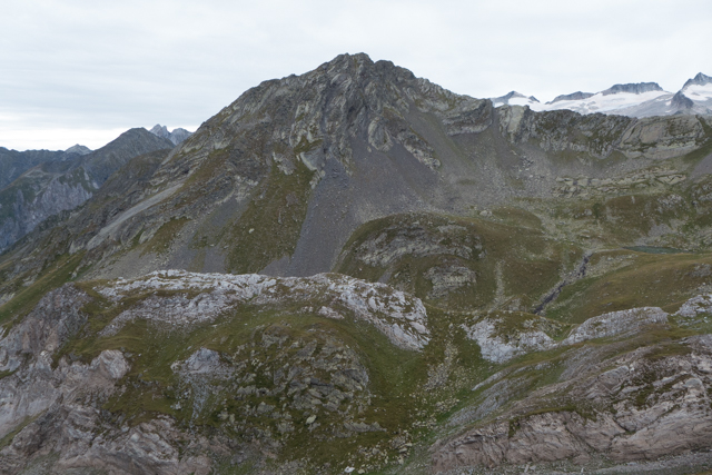 A view from the second point toward Mt. d'Aneto, the highest peak in the Pyrenees.