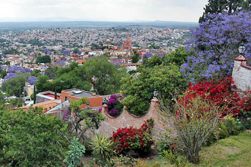 A view of San Miguel from one of its hilltops