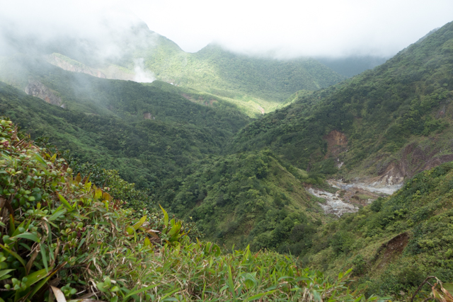 A view from the top of one of the peaks.  Dominica is truly one of the most unique and beautiful places we've ever hiked.