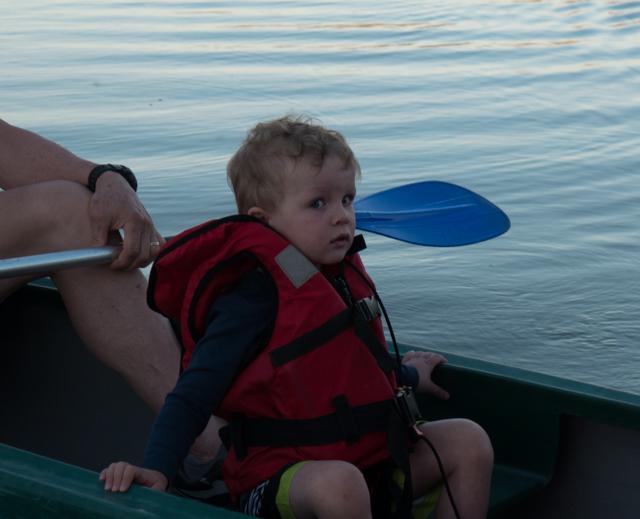 Rhys isn't so sure.....OK, he seems petrified.