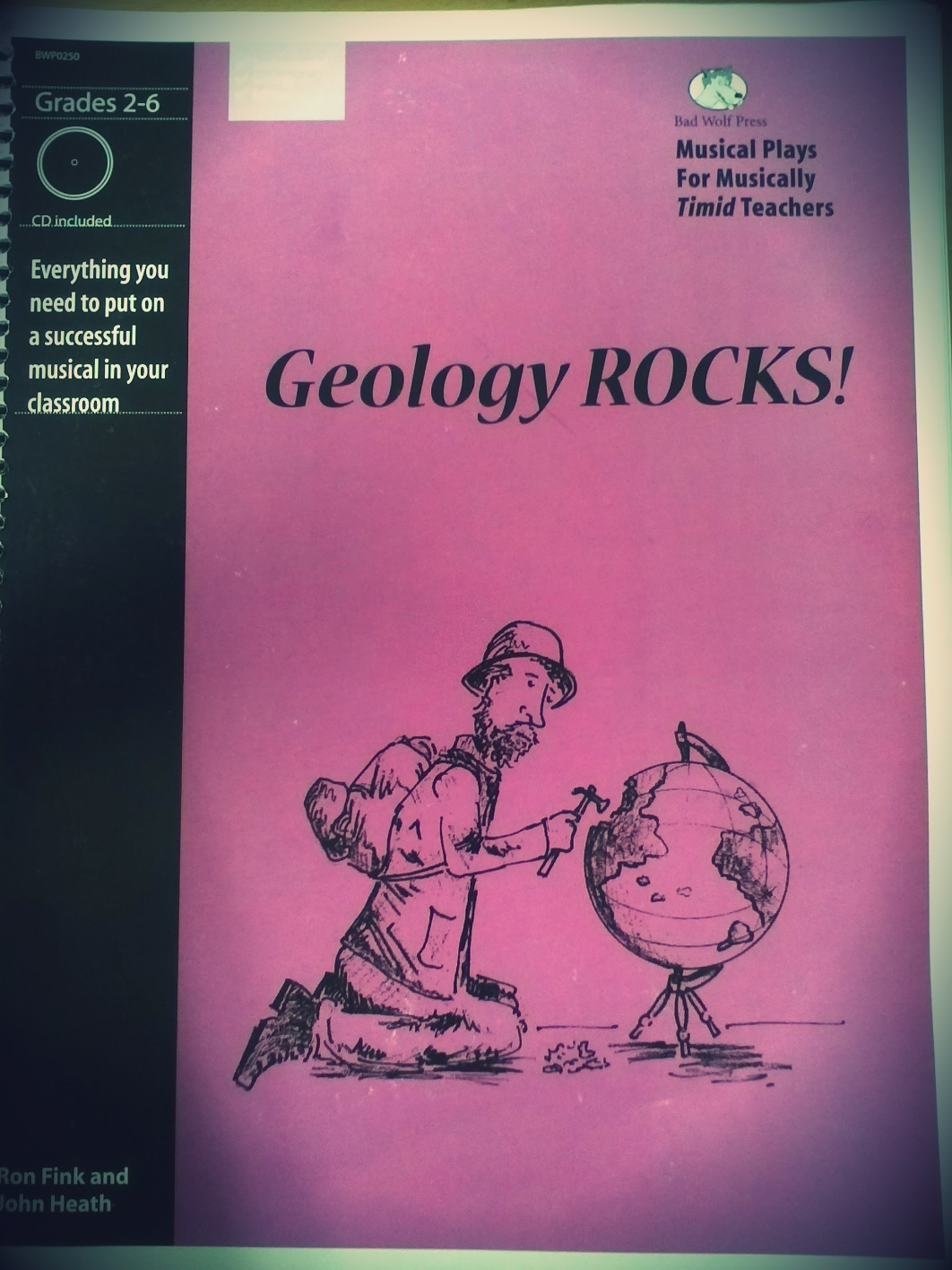Fifth Grade Musical Geology Rocks Two Apples A Day