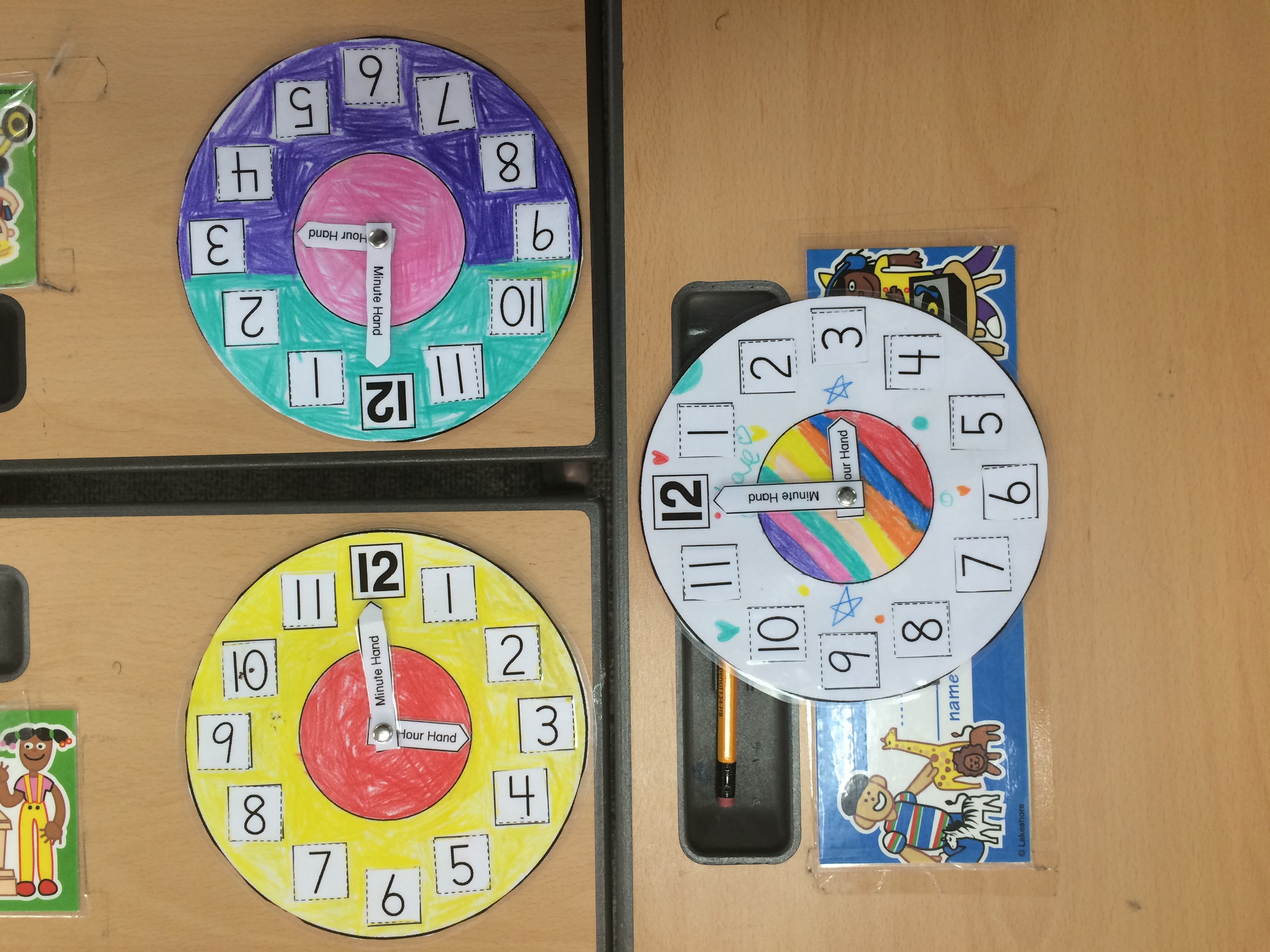 Telling Time In First Grade Two Apples A Day