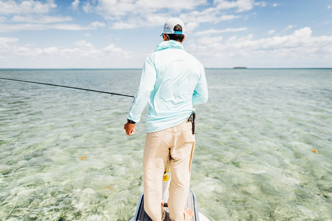 Two-Aught-Fly-Fishing-Co-Permit-On-Fly-Biscayne-Bay