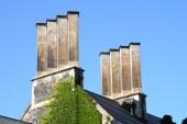 Chimney stacks on Hart House, University of Toronto
