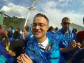 Glen on the Maid of the Mist.