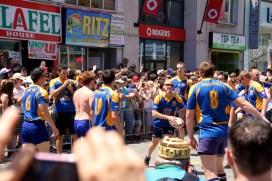 Gay rugby team.