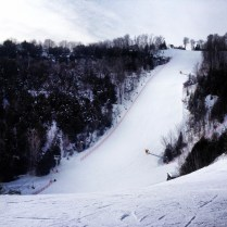 One of the black runs, the Avalanche