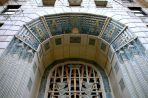 Stunning entry to this art deco building