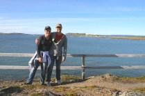 Us on the coastal walk