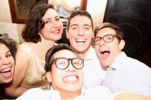 Gabriela, Fiamma, Kevin, Me and Ben