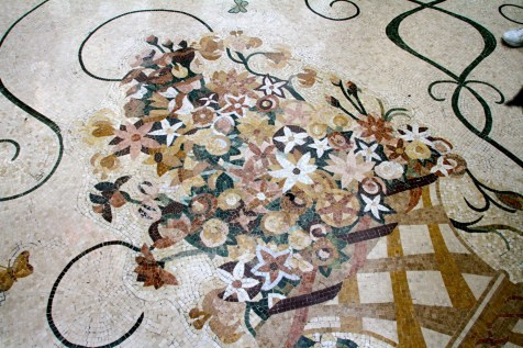 Bellagio Conservatory Floor