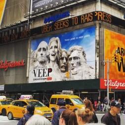 Veep in Time Square