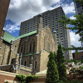The cathedral by the condo