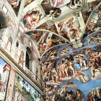 The Sistine Chapel ceiling