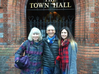 Pauline, Dad and Verity
