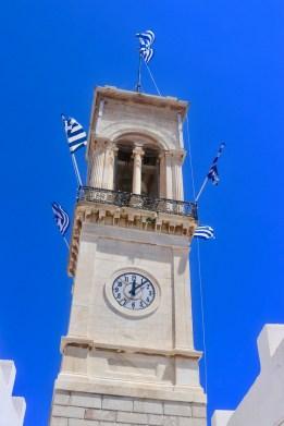 Hydra clock tower