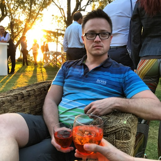 Spritz in the Sunset