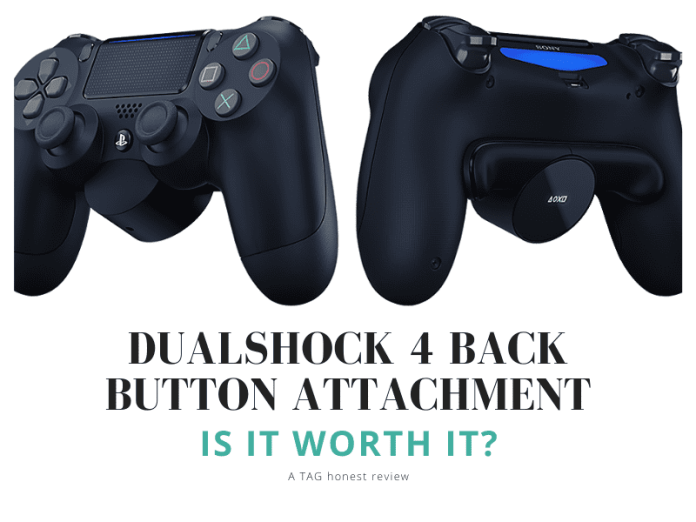 Is The Playstation Back Button Attachment Worth It