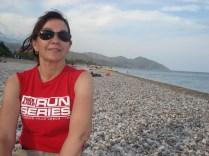 Praia de Olympos - quanta pedra