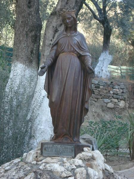 Entrada da casa da Virgem Maria