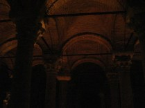 Interior da Cisterna da Basílica