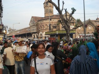 Crawford Market – uma das ruas