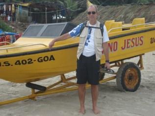 Chegamos em Goa, olha aí a prova. E aqui falavam português