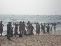 Calangute: mais uma praia frequentada pelos locais de roupa