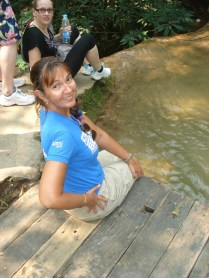 Cachoeira para refrescar