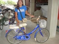 Minha bicicleta até a fazenda