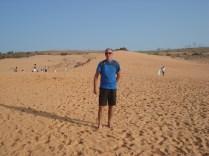Essas são as dunas amarelas.