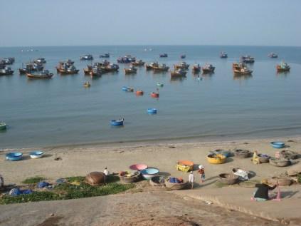 Mui Ne, a vila de pescadores
