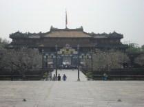 Palácio Tai Hoa ou Hall da Suprema Harmonia era a sala do trono dos imperadores. É linda. Infelizmente não pode ser fotografada.