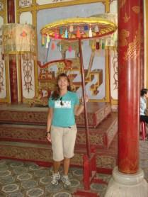 Halls dos Mandarins são dois um de cada lado. Um era para os mandarins militares e o outro para os mandarins civis
