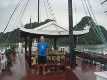 Deck do nosso barco