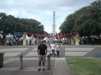 South Bank - Margem Sul do Rio Brisbane foi feito para a Expo 88 e agora virou um centro de cultura, lazer e entretenimento