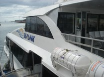 Ferry que faz o percurso Townsville / Magnetic Island