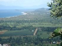 Vista do alto da Trilha de Bicton Hill