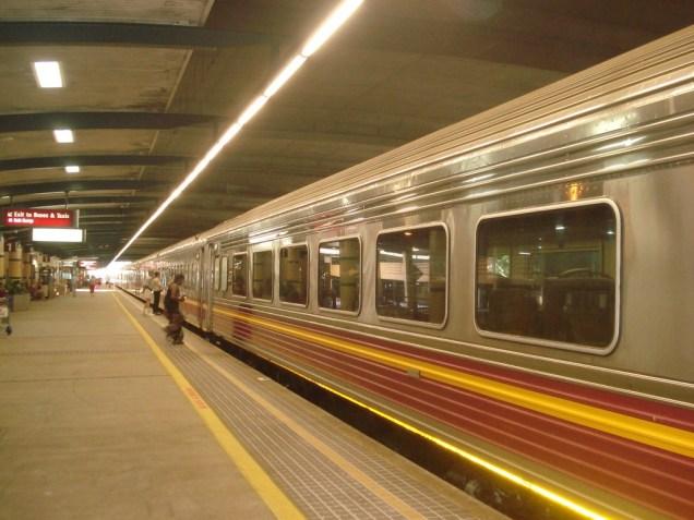 Sunlander – o trem de Queensland (estado da Austrália)