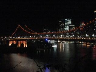 Vista da ponte Story Bridge