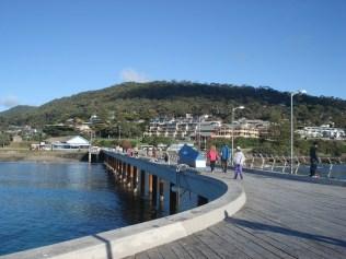 Anglesea, uma cidade de veraneio muito querida pelos Melburnians