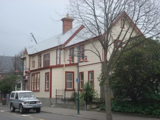 YHA Christchurch. Prédio histórico.