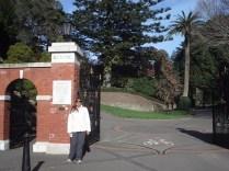 Entrada do Jardim Botânico de Wellington